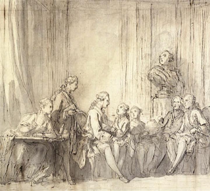L'éducation du roi à la cour de France Captu120