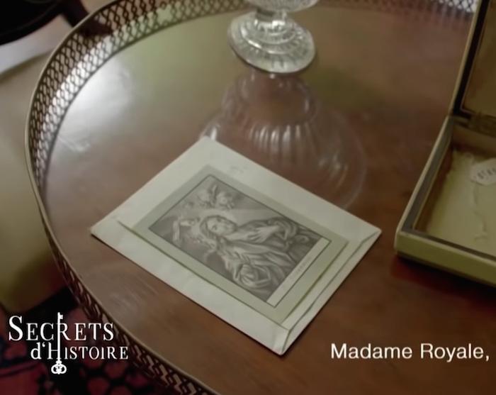 Dessins réalisés par Madame Royale, duchesse d'Angoulême Captu152