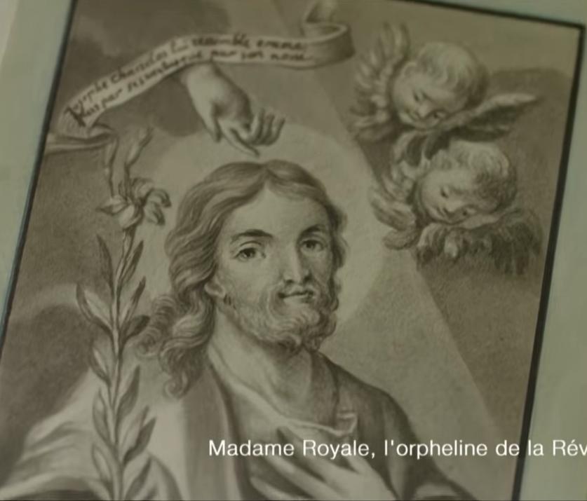 Dessins réalisés par Madame Royale, duchesse d'Angoulême Captu154