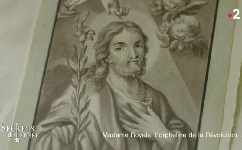 Dessins réalisés par Madame Royale, duchesse d'Angoulême Captu155