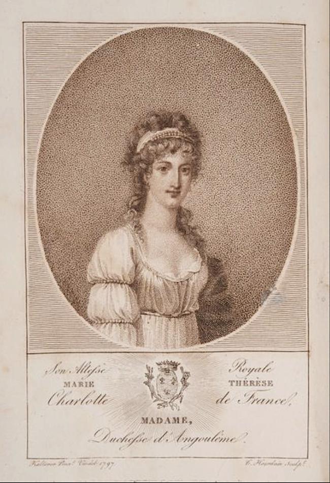 Portraits de Madame Royale, duchesse d'Angoulême - Page 5 Captu205