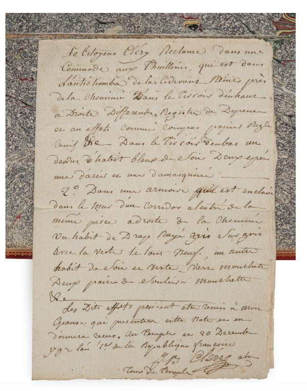 Cléry -  Jean-Baptiste Cléry, valet de chambre de Louis XVI Captu211