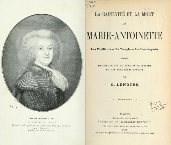 Testament / Lettre de Marie-Antoinette à Madame Elisabeth, le 16 octobre 1793 - Page 3 Captu211