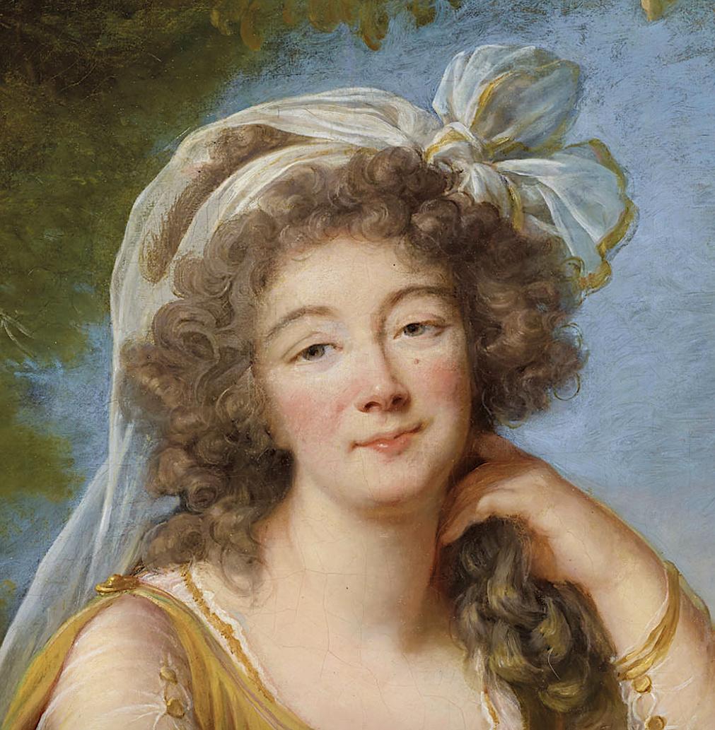 Portraits de la comtesse du Barry par (et d'après) Elisabeth Vigée Le Brun Captu234