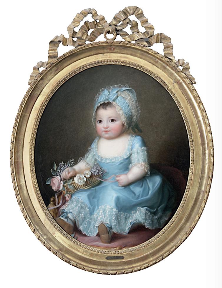 Sophie de Bourbon dite Mademoiselle d'Artois Captu238