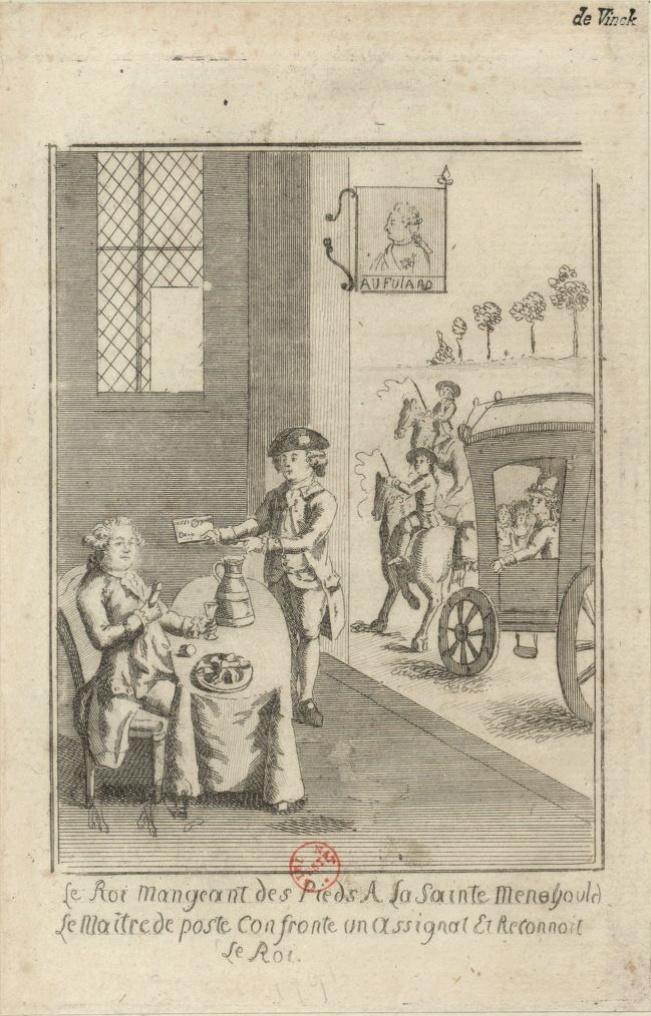 Varennes : Jean-Baptiste Drouet a-t-il reconnu Louis XVI grâce au profil du roi gravé sur une pièce de monnaie ?  Captu245
