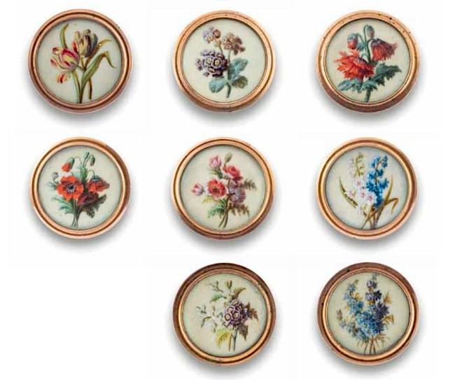 Les boutons, accessoires de mode au XVIIIe siècle - Page 2 Captu263