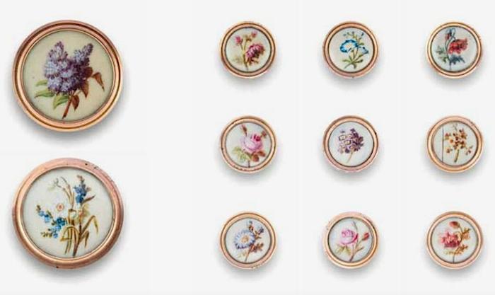 Les boutons, accessoires de mode au XVIIIe siècle - Page 2 Captu266