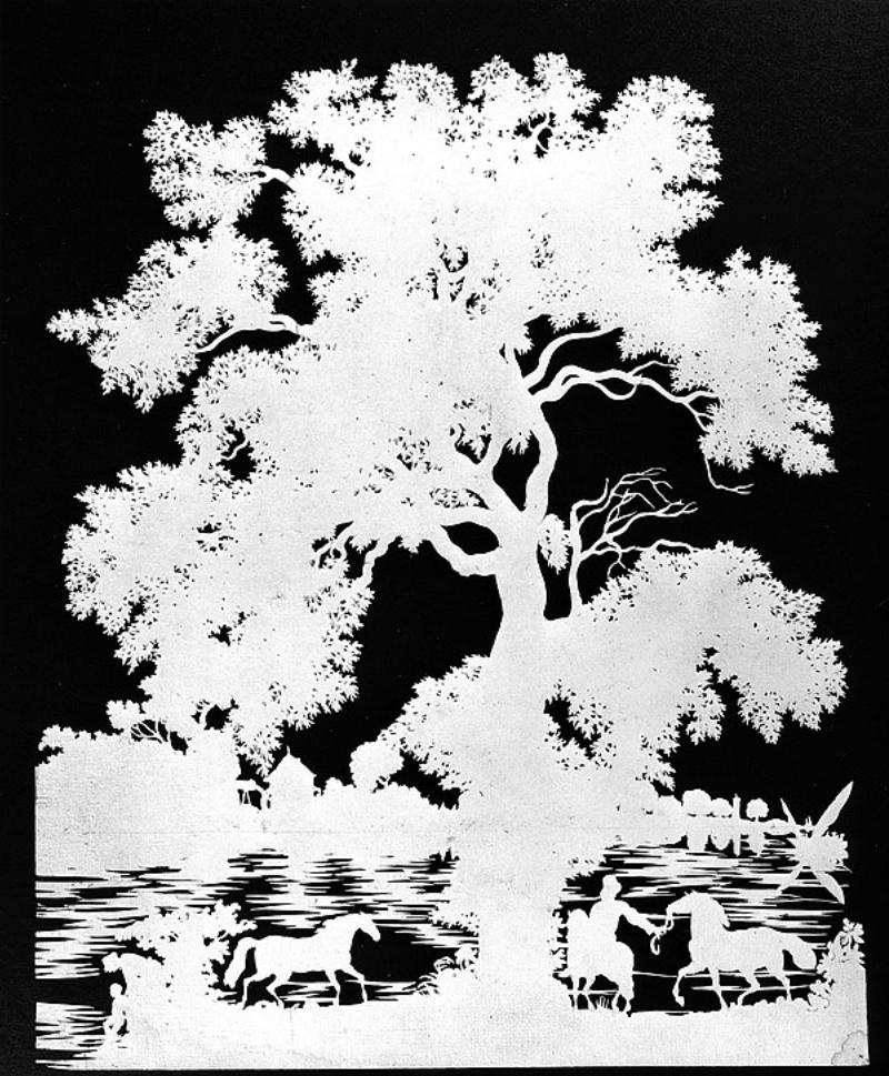 L'art des découpures : figures en papier découpées Captu288