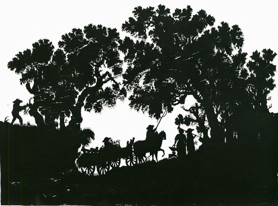 L'art des découpures : figures en papier découpées Captu289