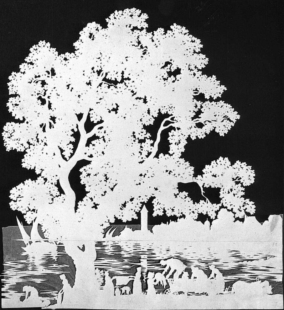 L'art des découpures : figures en papier découpées Captu290