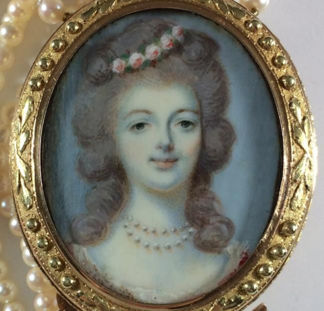Marie Antoinette, miniatures attribuées à ou d'après François Dumont - Page 2 Captu304