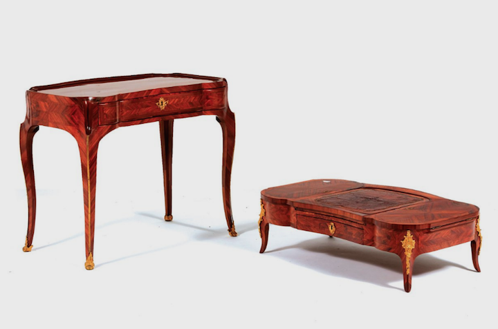 """Les tables dites """"d'accouchée"""", au XVIIIe siècle Captu321"""