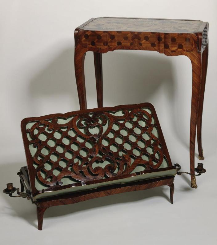 """Les tables dites """"d'accouchée"""", au XVIIIe siècle Captu323"""