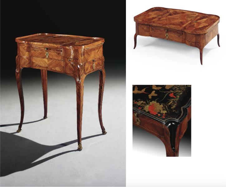 """Les tables dites """"d'accouchée"""", au XVIIIe siècle Captu324"""