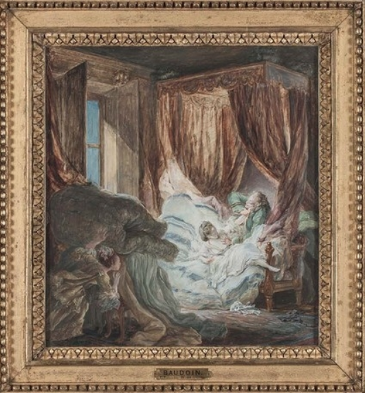 Pierre-Antoine Baudouin, dessinateur du libertinage au XVIIIe siècle Captu335