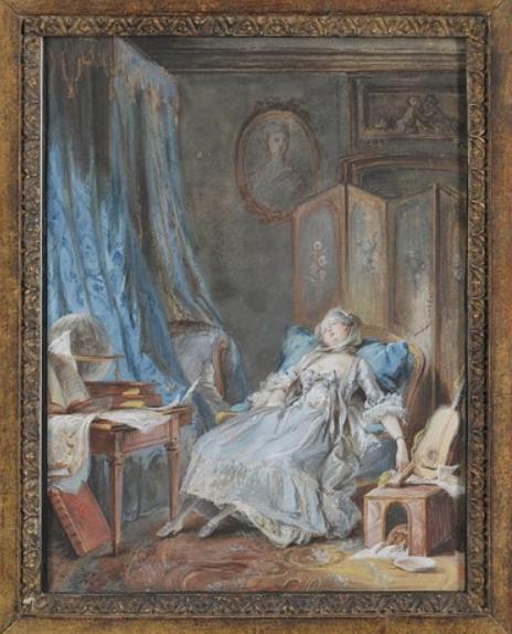 Pierre-Antoine Baudouin, dessinateur du libertinage au XVIIIe siècle Captu337