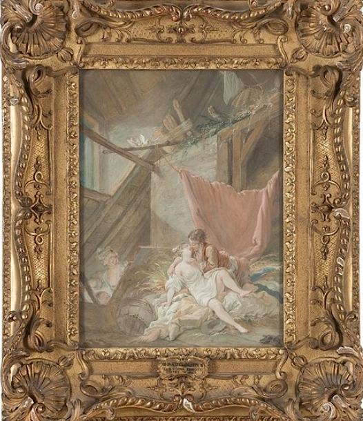Pierre-Antoine Baudouin, dessinateur du libertinage au XVIIIe siècle Captu338