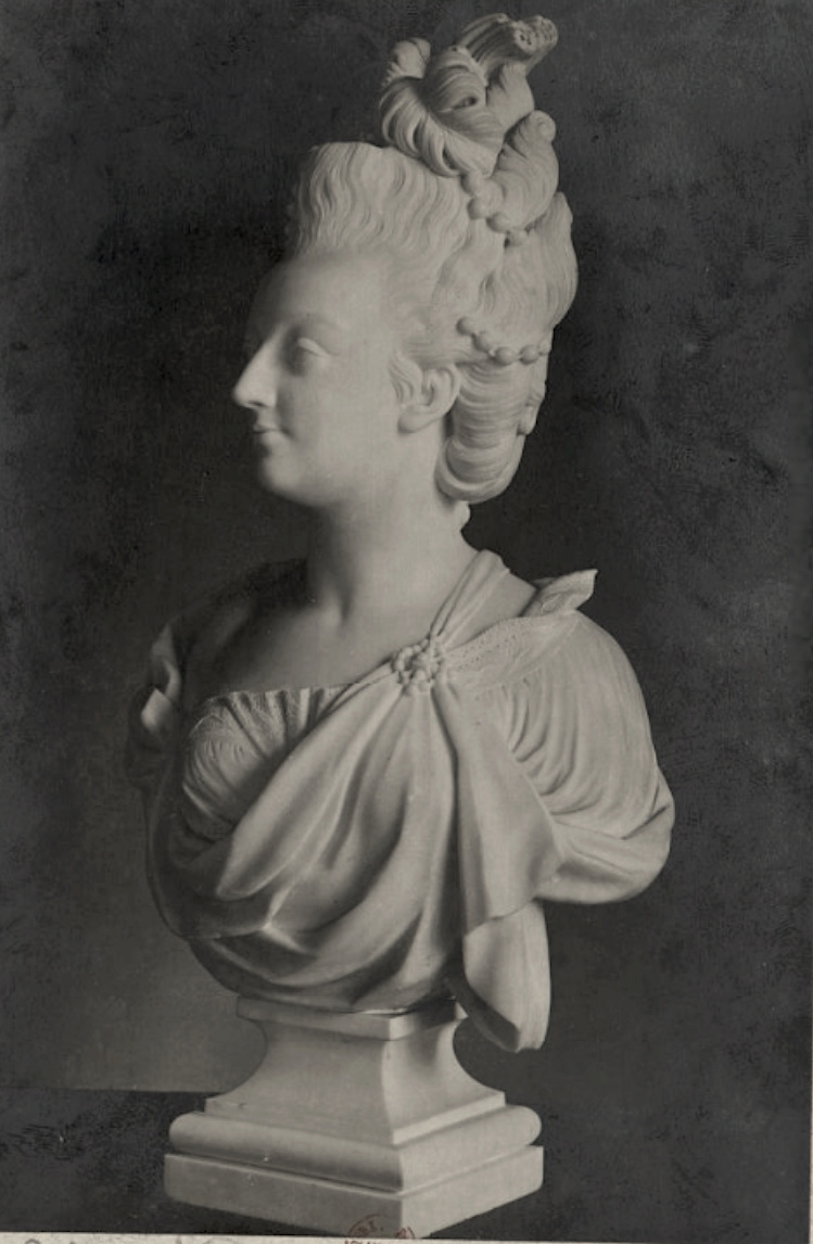 Buste de Marie-Antoinette, Palais Pitti (Florence) Captu347