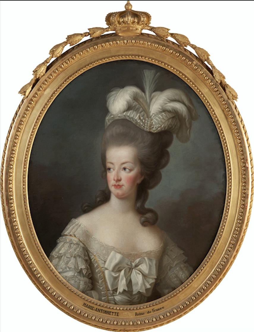 Marie-Antoinette en buste par et d'après Mme Vigée-Lebrun (1778) Captu361