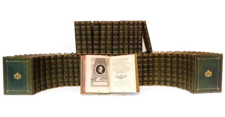 """buffon - """"Histoire naturelle, générale et particulière"""" du comte de Buffon Captu375"""