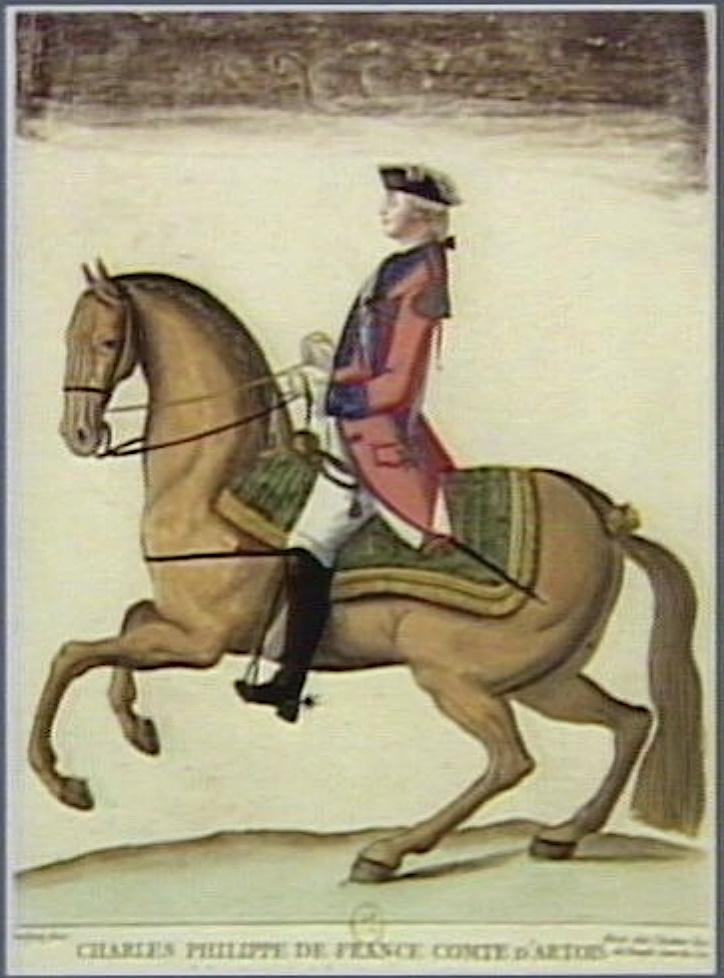 Série d'estampes : portraits équestres de Robin de Montigny  Captu378