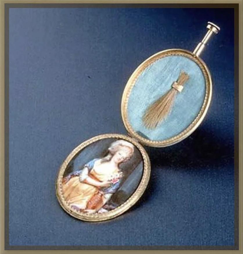 Marie-Antoinette par Charles-Henri des Fossés (Desfossés) ou Desfossez Captu379