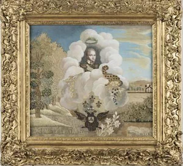 Dessins réalisés par Madame Royale, duchesse d'Angoulême Captu380