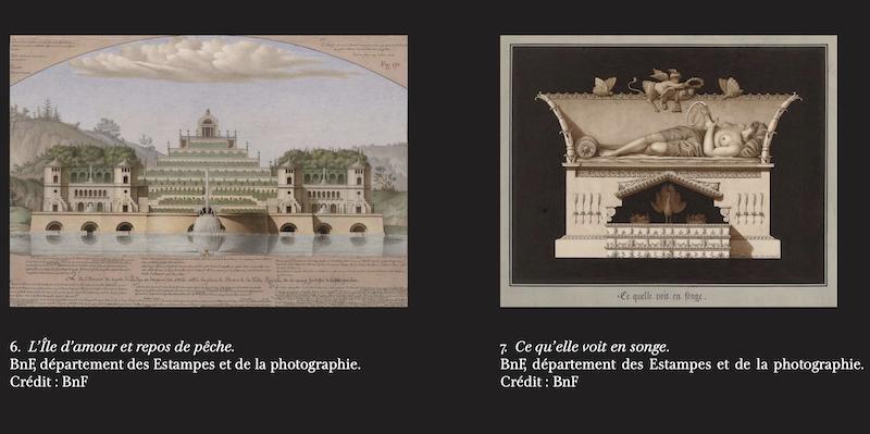 Exposition : Jean-Jacques Lequeu, bâtisseur de fantasmes. Petit Palais, Paris Captu390