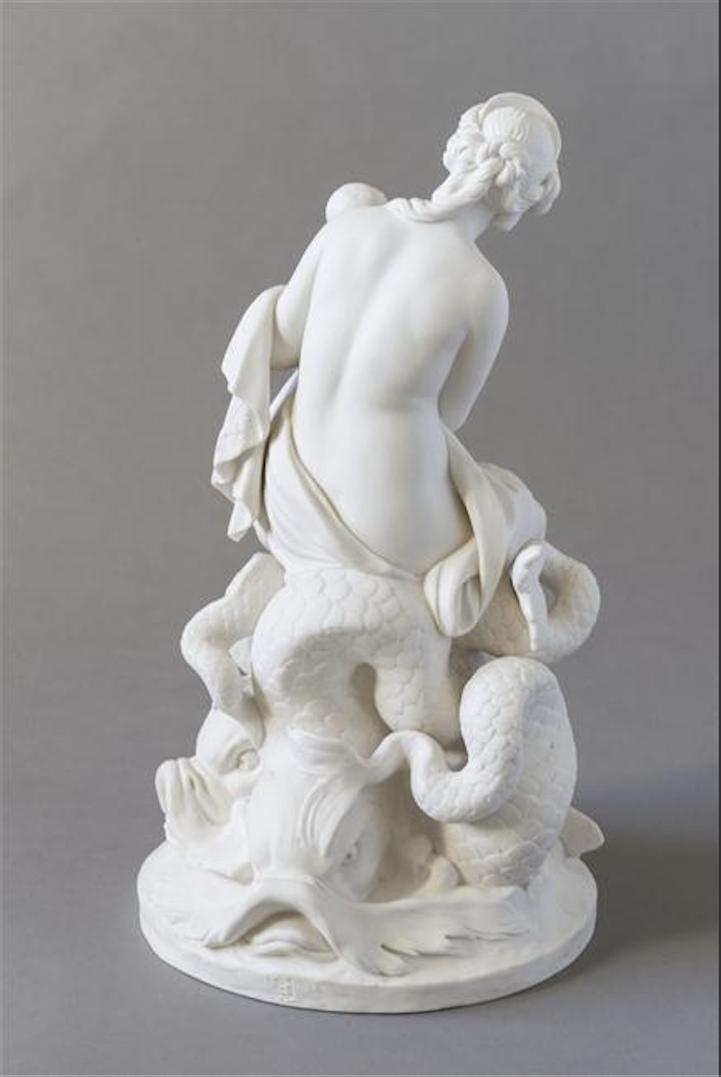 Marie-Antoinette, allégorie de la naissance du dauphin, par et d'après Augustin Pajou Captu406