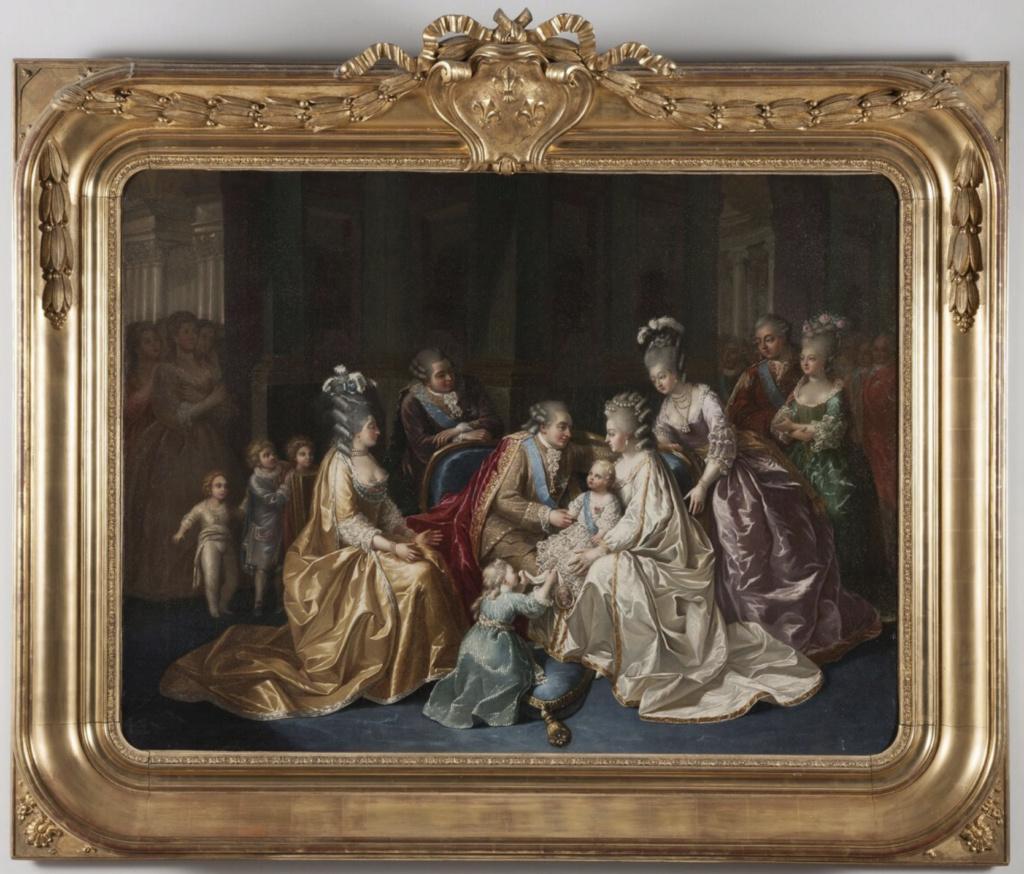 Naissances illustrées des enfants de Marie-Antoinette  Captu407