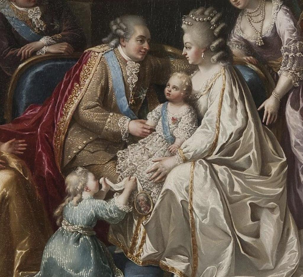 Naissances illustrées des enfants de Marie-Antoinette  Captu408