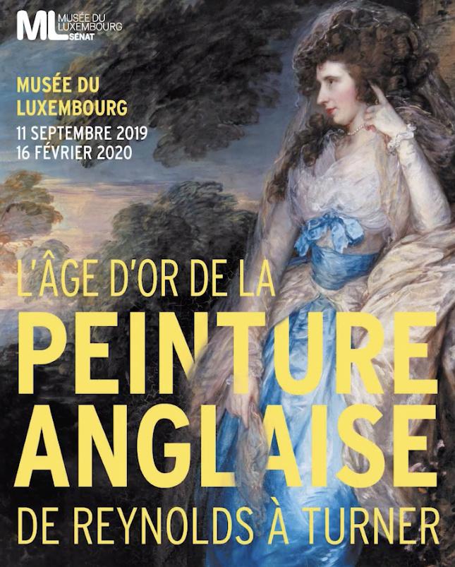 """Exposition Musée du Luxembourg : """"L'âge d'or de la peinture anglaise"""", de Reynolds à Turner Captu433"""
