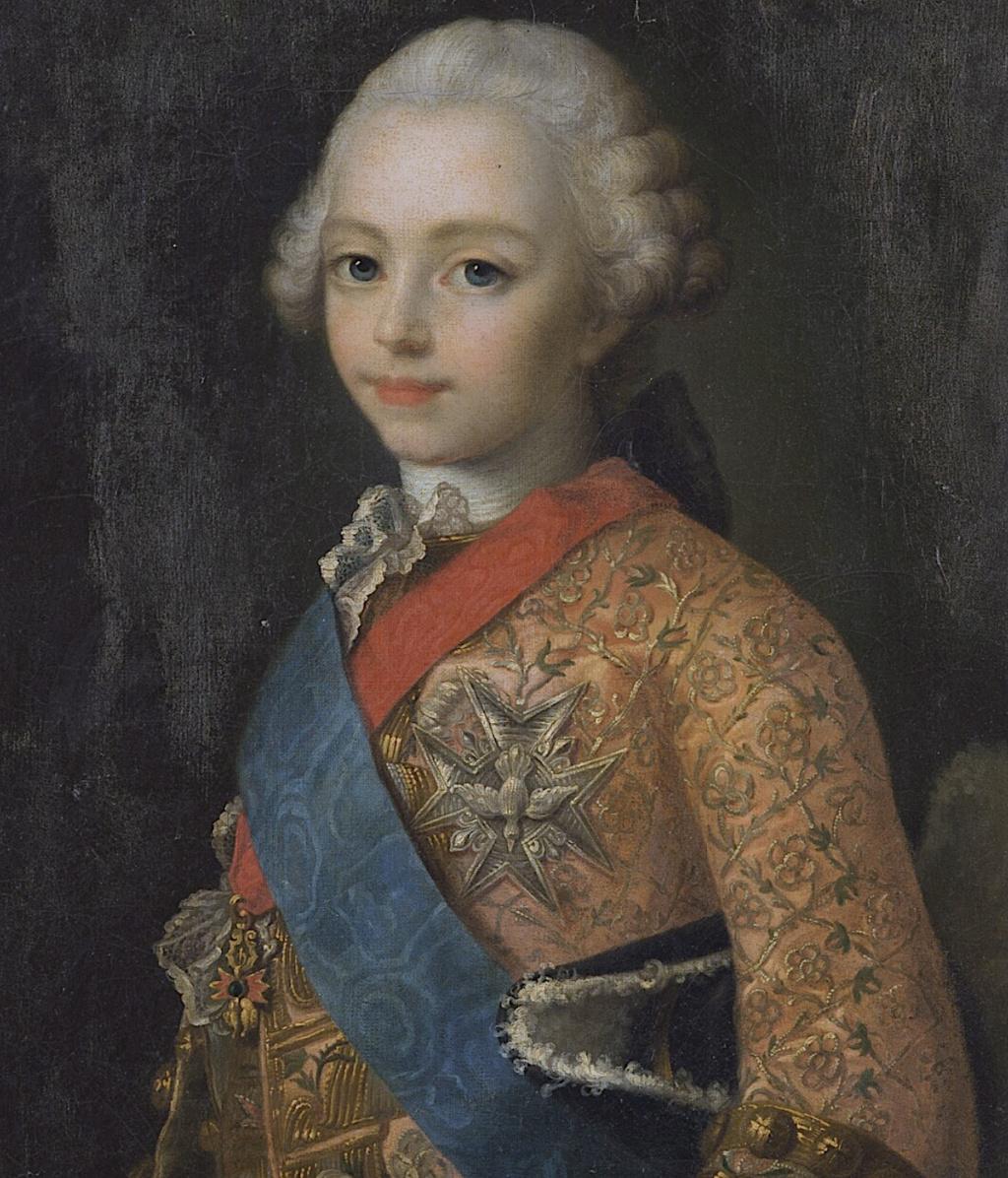 Bourgogne, frère ainé de Louis XVI Captu443