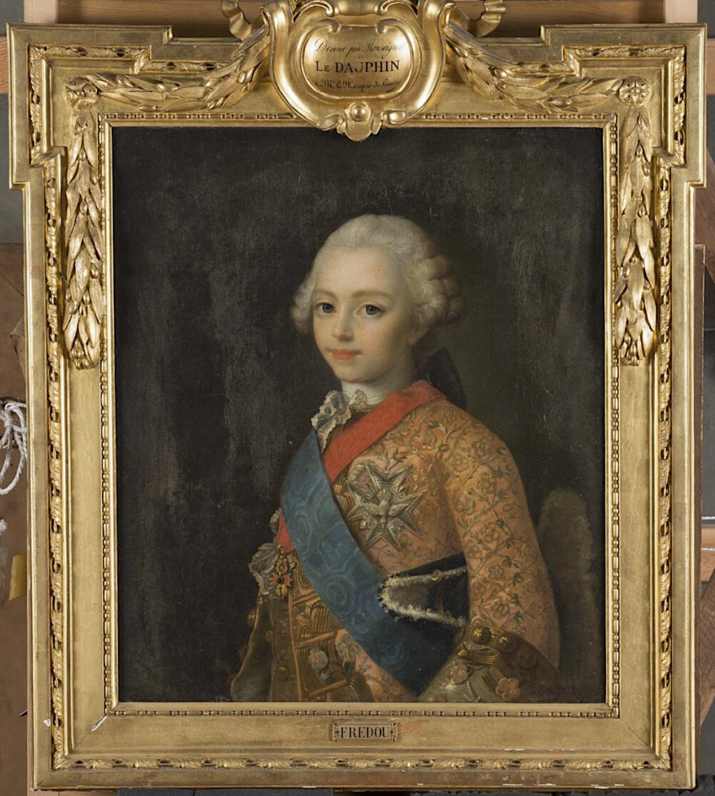 fredou - Portraits de Marie-Antoinette et de la famille royale, par Jean-Martial Frédou Captu444