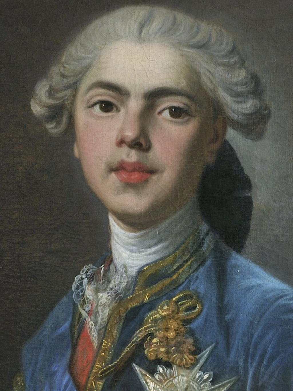 Portraits du comte d'Artois ou du comte de Provence par Van Loo ? Captu449