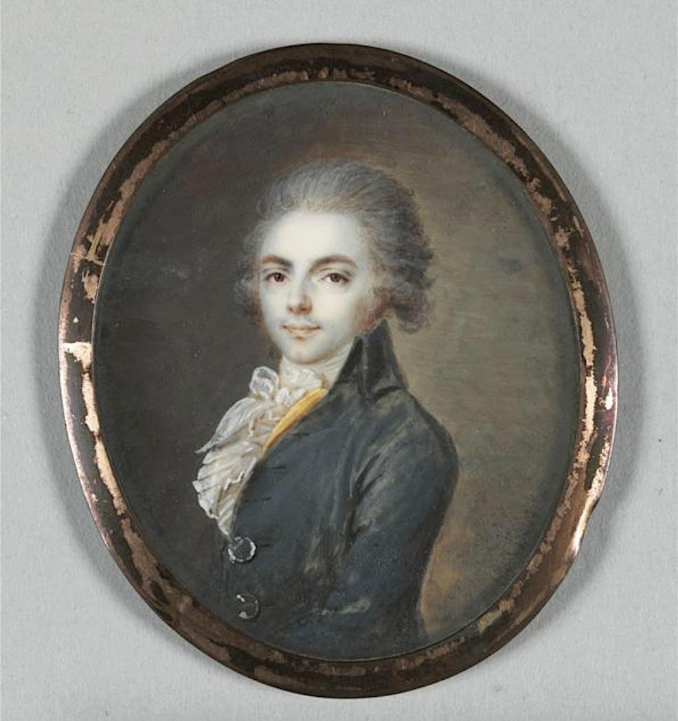 Jean-Baptiste-Jacques Augustin, peintre miniaturiste Captu450