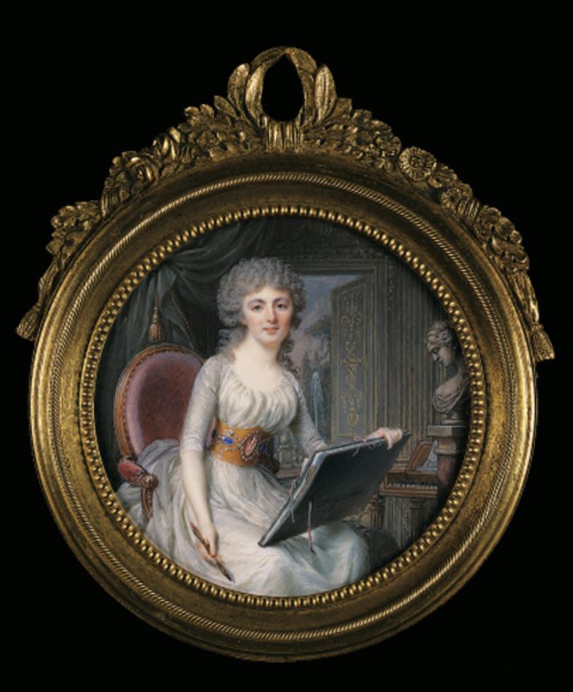 Jean-Baptiste-Jacques Augustin, peintre miniaturiste Captu454