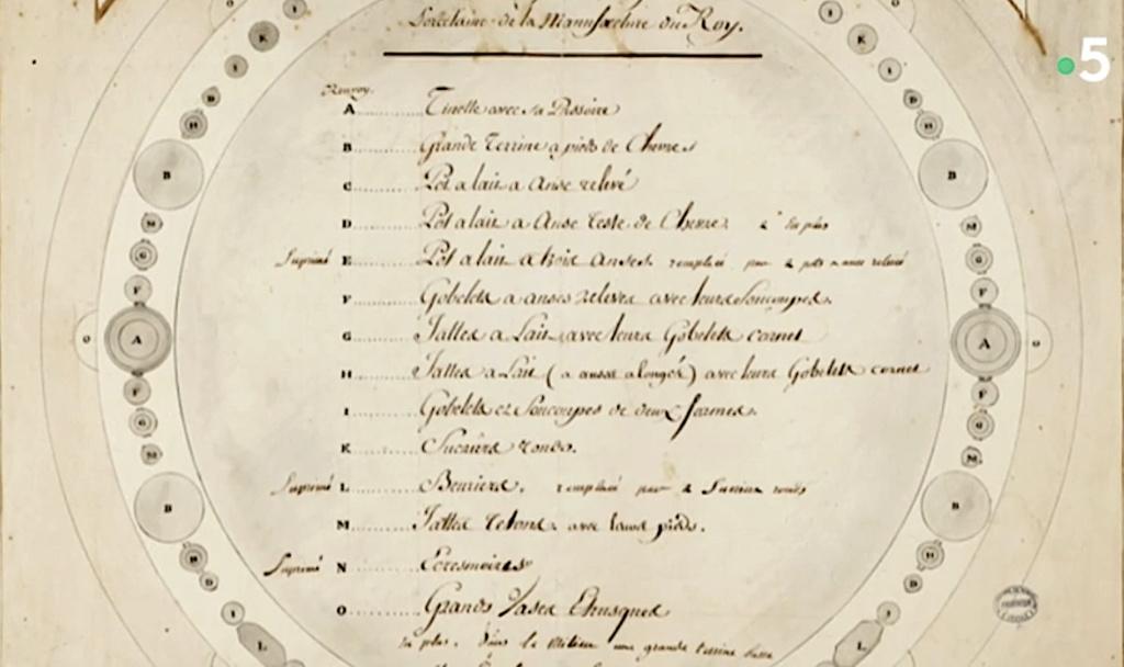 Service de Marie-Antoinette pour Rambouillet en porcelaine de Sèvres Captu465