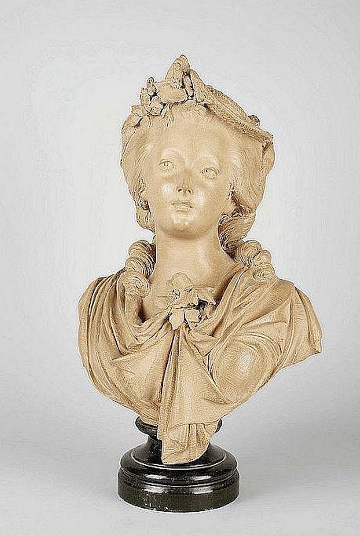 Sculpture : Les bustes de la princesse de Lamballe (présumée) Captu470