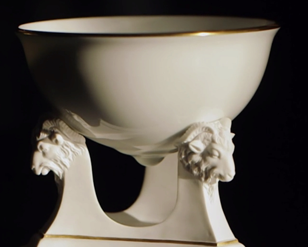 Service de Marie-Antoinette pour Rambouillet en porcelaine de Sèvres Captu476