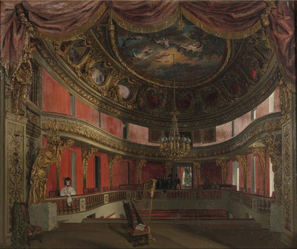 Le Théâtre de la reine (Trianon) : de la Révolution à la fin du XIXe siècle Captu483