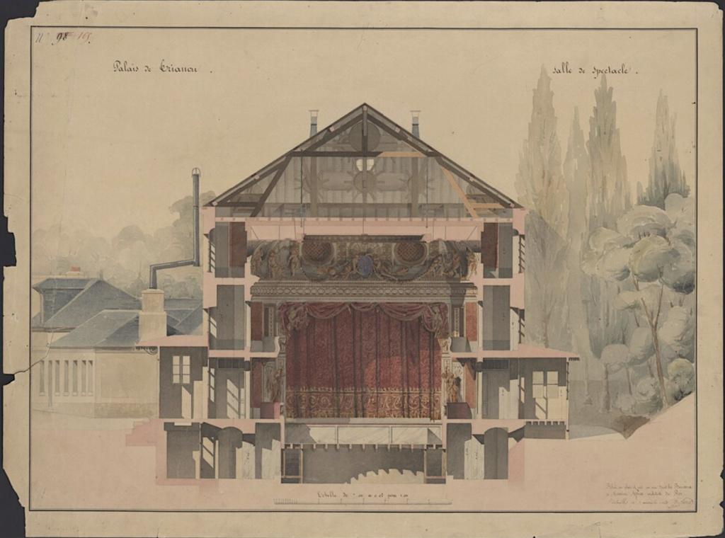 Le Théâtre de la reine (Trianon) : de la Révolution à la fin du XIXe siècle Captu484