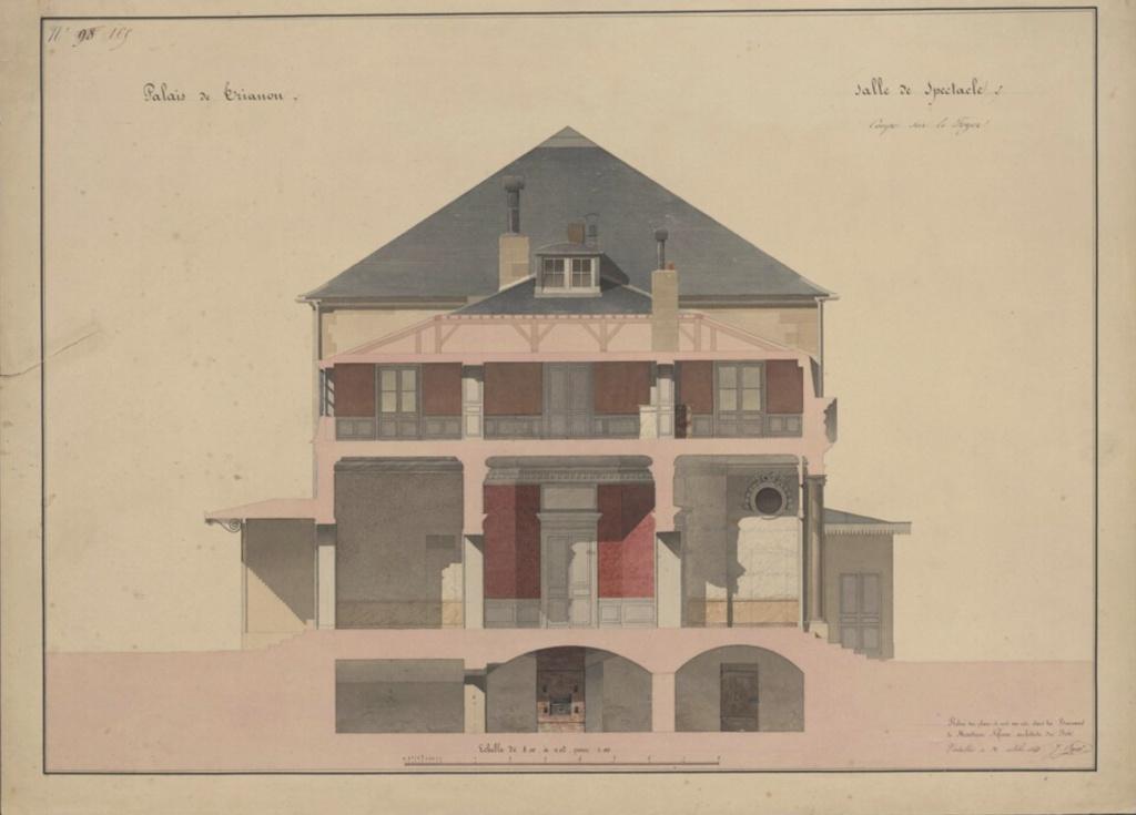 Le Théâtre de la reine (Trianon) : de la Révolution à la fin du XIXe siècle Captu485