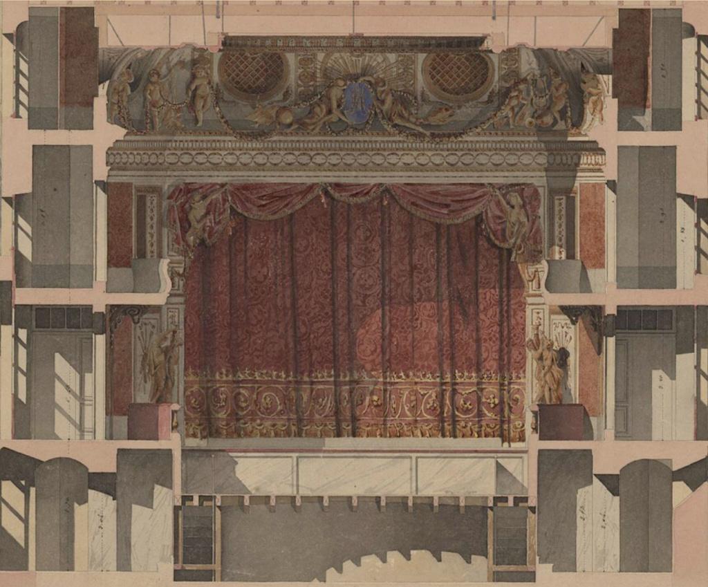 Le Théâtre de la reine (Trianon) : de la Révolution à la fin du XIXe siècle Captu486