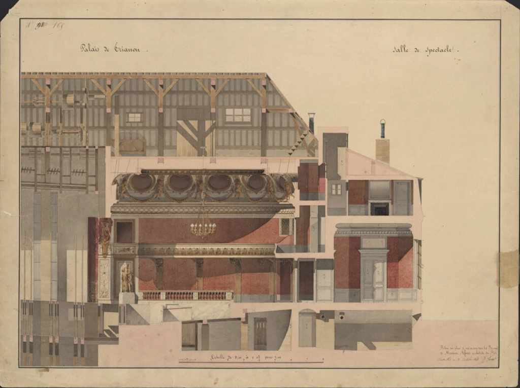 Le Théâtre de la reine (Trianon) : de la Révolution à la fin du XIXe siècle Captu488