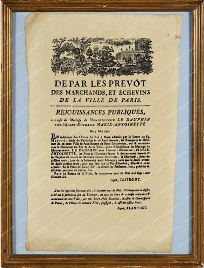 Le mariage de Louis XVI et Marie-Antoinette  - Page 11 Captu496