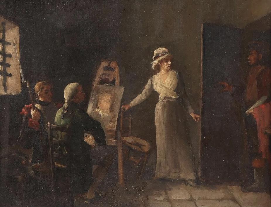 Portraits de Marie-Antoinette dans les prisons du Temple et de la Conciergerie - Page 4 Captu508