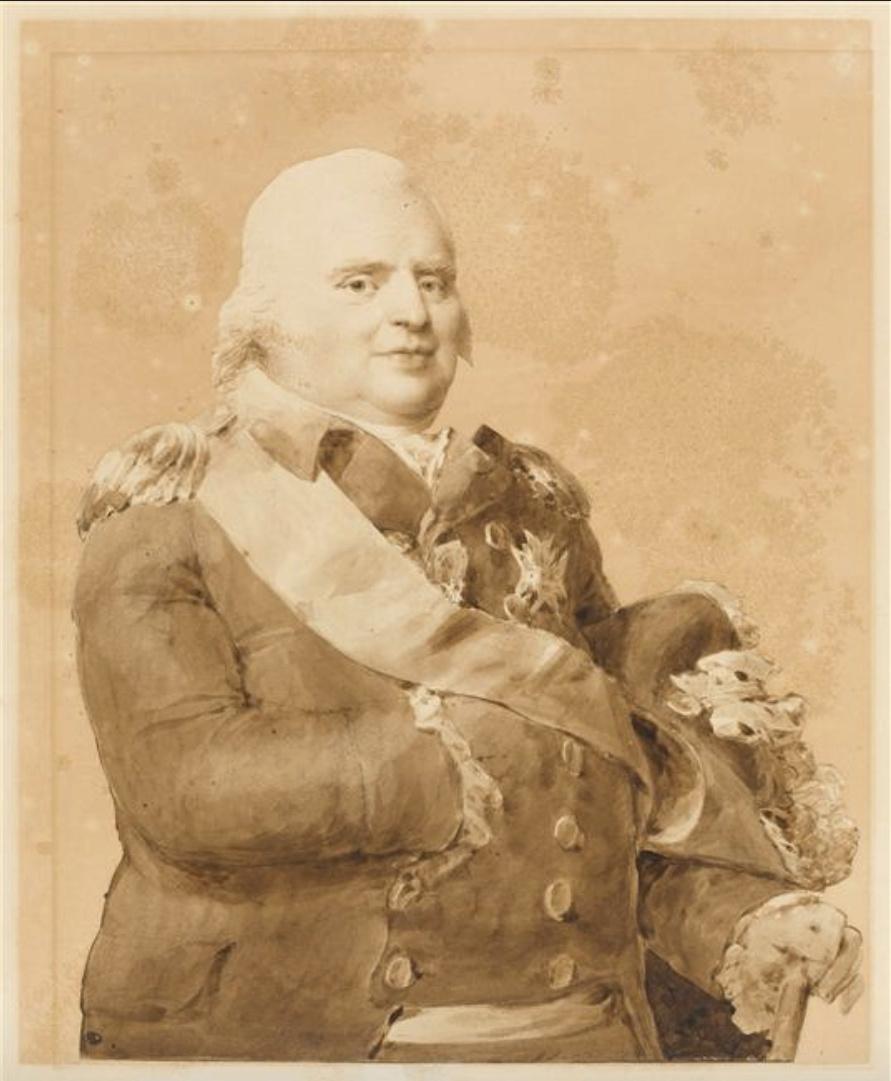 L'entrevue du Tsar Alexandre Ier et de Louis XVIII à Compiègne, le 1er mai 1814 Captu514