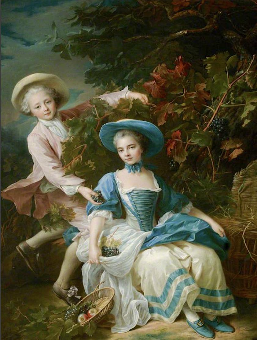 Les Drouais, artistes peintres de père en fils : Jean, Hubert, François-Hubert et Jean-Germain Drouais Captu535
